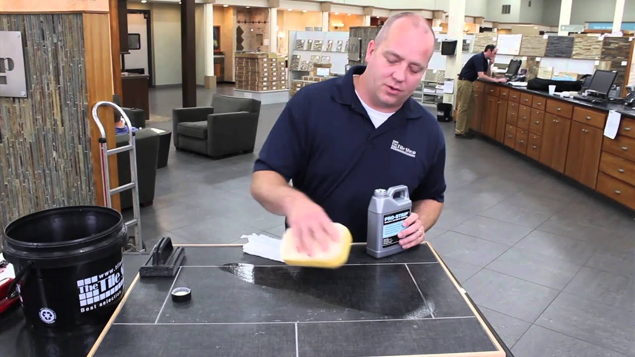 How to remove sealers from tile tile diy video youtube dailygadgetfo Gallery
