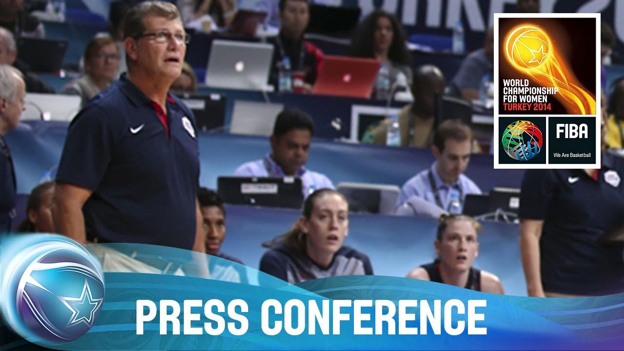 USA v Spain Final - Post game Press Conference