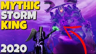 Mythic Storm King In 2020....Fortnite Save The World