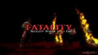 Mortal Kombat: Shaolin Monks - Gameplay PS2 HD 720P