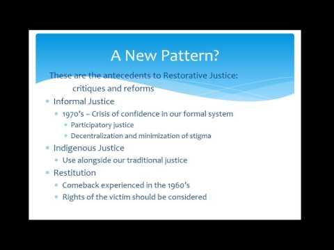 Alternatives to Justice
