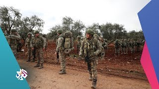 معركة إدلب .. تعزيزات عسكرية جديدة للجيش التركي تصل لنقاط المراقبة │ أخبار العربي