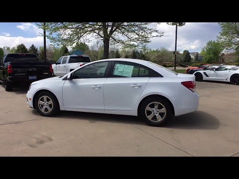 2016 Chevrolet Cruze Limited Broomfield, Arvada, Thornton, Boulder, Longmont, Ft. Collins, CO TB1901