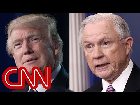 Trump: I\'m disappointed in Jeff Sessions