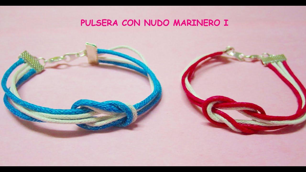 Tipos de nudos para pulseras de cuero brazaletes manillas for Tipos de pulseras