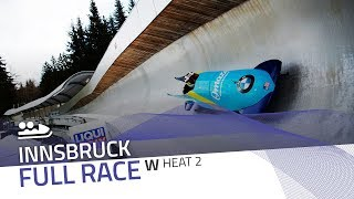 Innsbruck | BMW IBSF World Cup 2019/2020 - Women's Bobsleigh Heat 2 | IBSF Official
