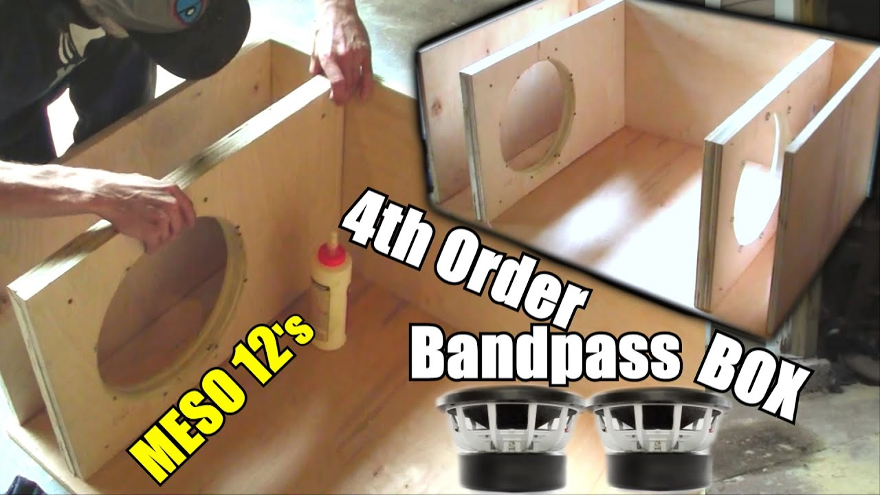 Building A Bandpass Subwoofer Box