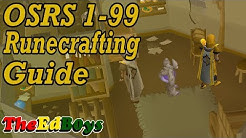 OSRS 1-99 Runecrafting Guide | Updated Old School Runescape Runecraft Guide