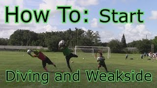 Goalkeeper Training: How to Get Over the Fear of Diving and Weak side