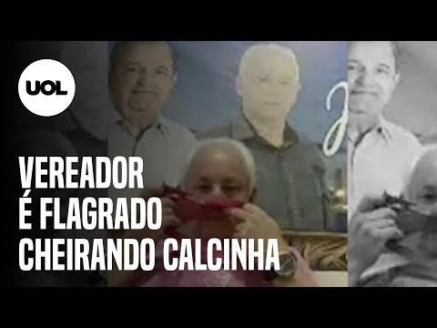 Vereador é flagrado cheirando calcinha durante sessão em Bragança Paulista