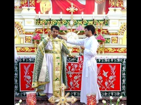 Holy Mass in Syro- Malankara Rite celebrated by Fr.Robin Manakalathu