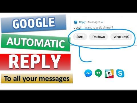Aapke Har Message Ka Automatic Reply: Google Reply App
