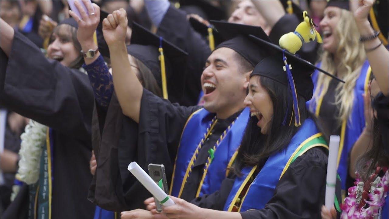 UC Santa Cruz Commencement 2018