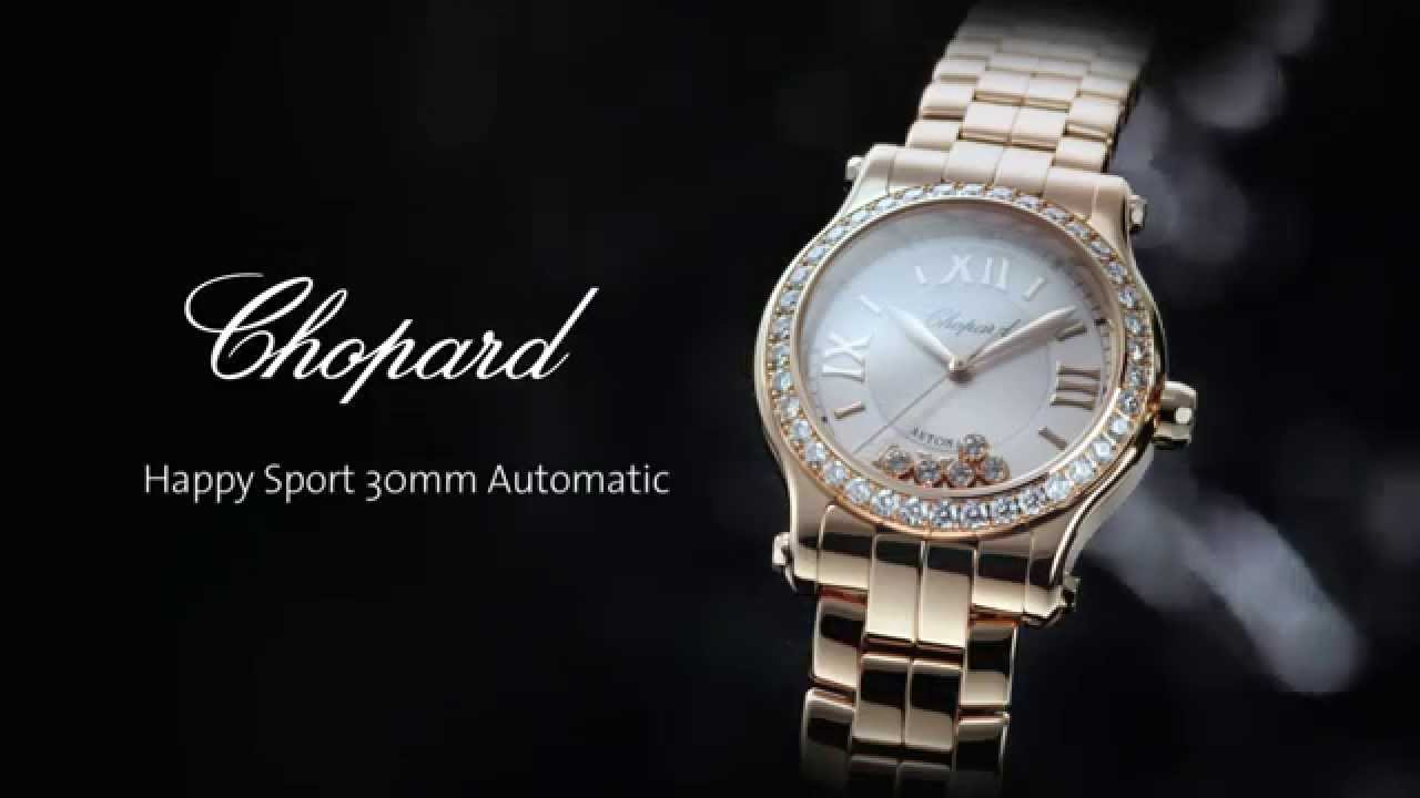 chopard watch dial image amp steel diamond watches sport strap happy ladies floating