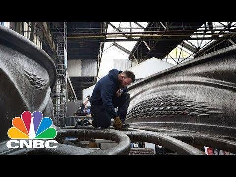 This Steel Bridge Was 3-D Printed In Midair   CNBC
