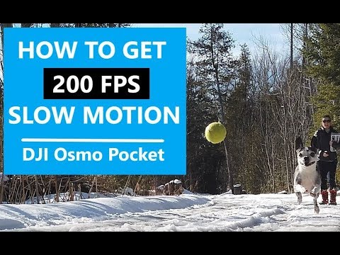 What 200 FPS Slow Motion Looks Like In The DJI Osmo Pocket