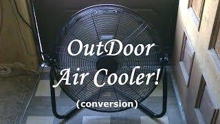 High-Velocity Evap. Cooling Fa…