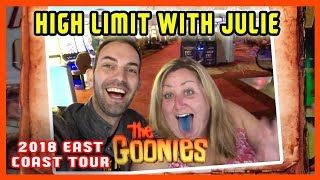 👫Julie + Brian do HIGH LIMIT Slots and more! 🎰🌐EAST COAST TOUR ✦ Brian Christopher Slots