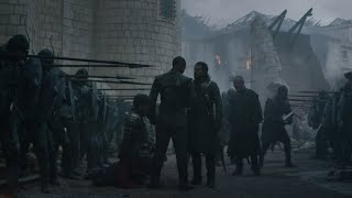 Jon Snow Tries Stopping Grey Worm From Executing Lannister Army - Game Of Thrones Season 8 Episode 6