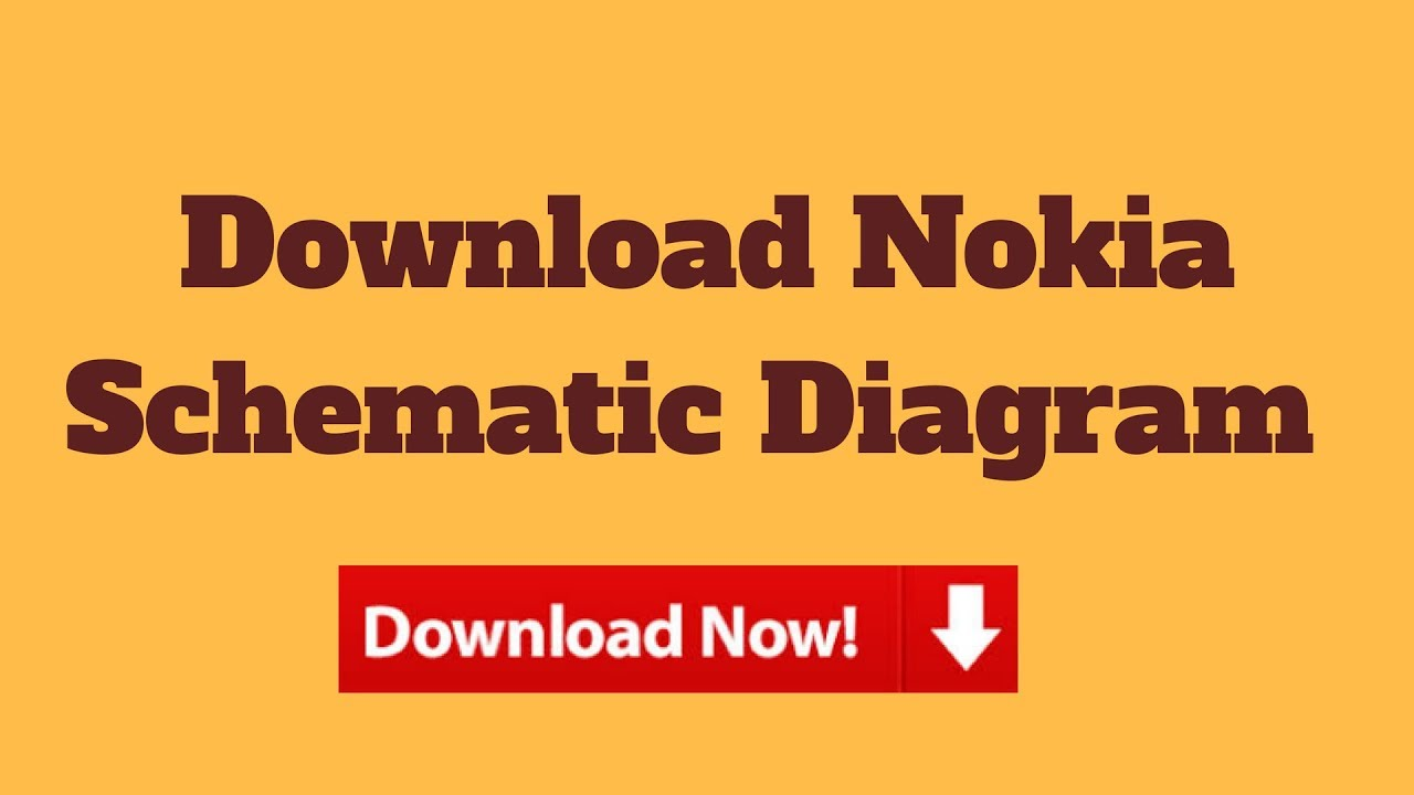 Download Nokia Schematic Diagram Youtube Circuit 1100