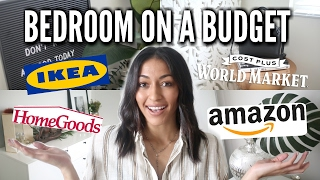 Bedroom on a BUDGET! Home Decor Shopping HACKS (2017)