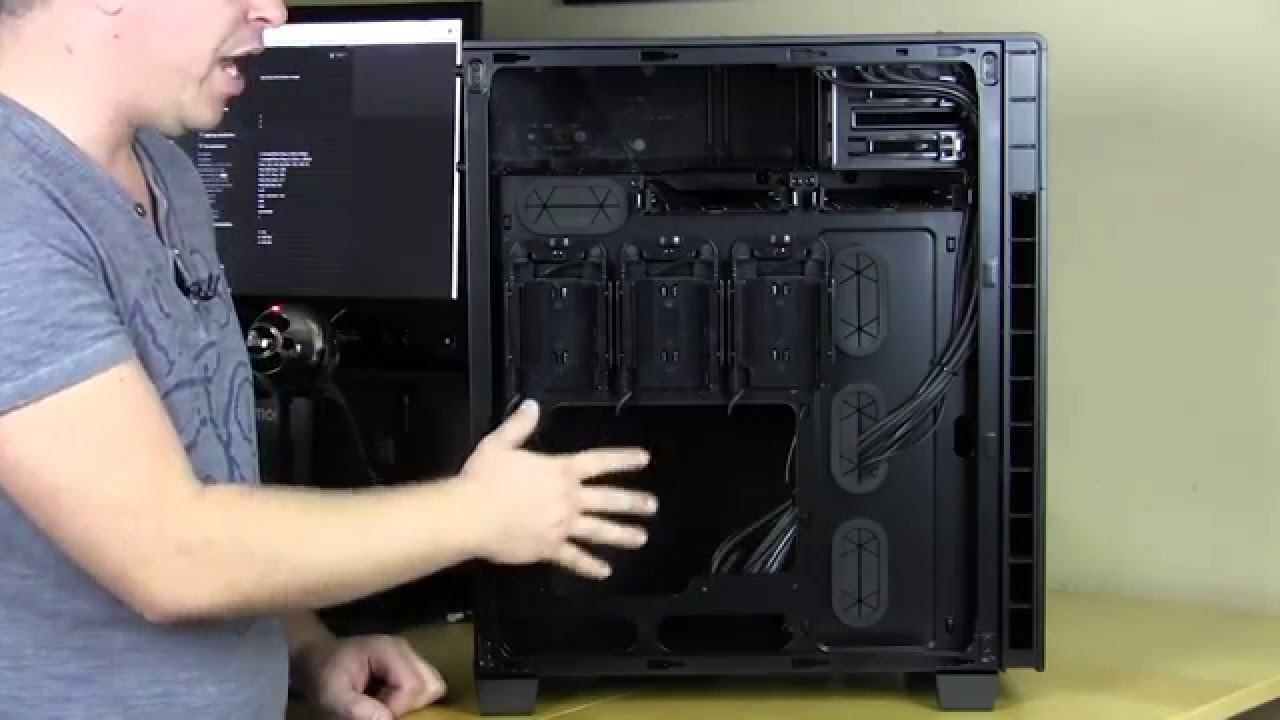 Corsair Carbide Series 600q Case Overview Youtube
