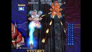 Raiden IV - Arcade Original - 2-ALL Clear 66,473,960