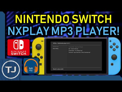 MP3 Music Player For Nintendo Switch!