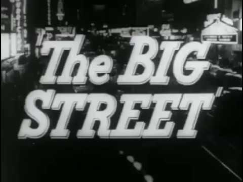 The Big Street - Re-release Trailer