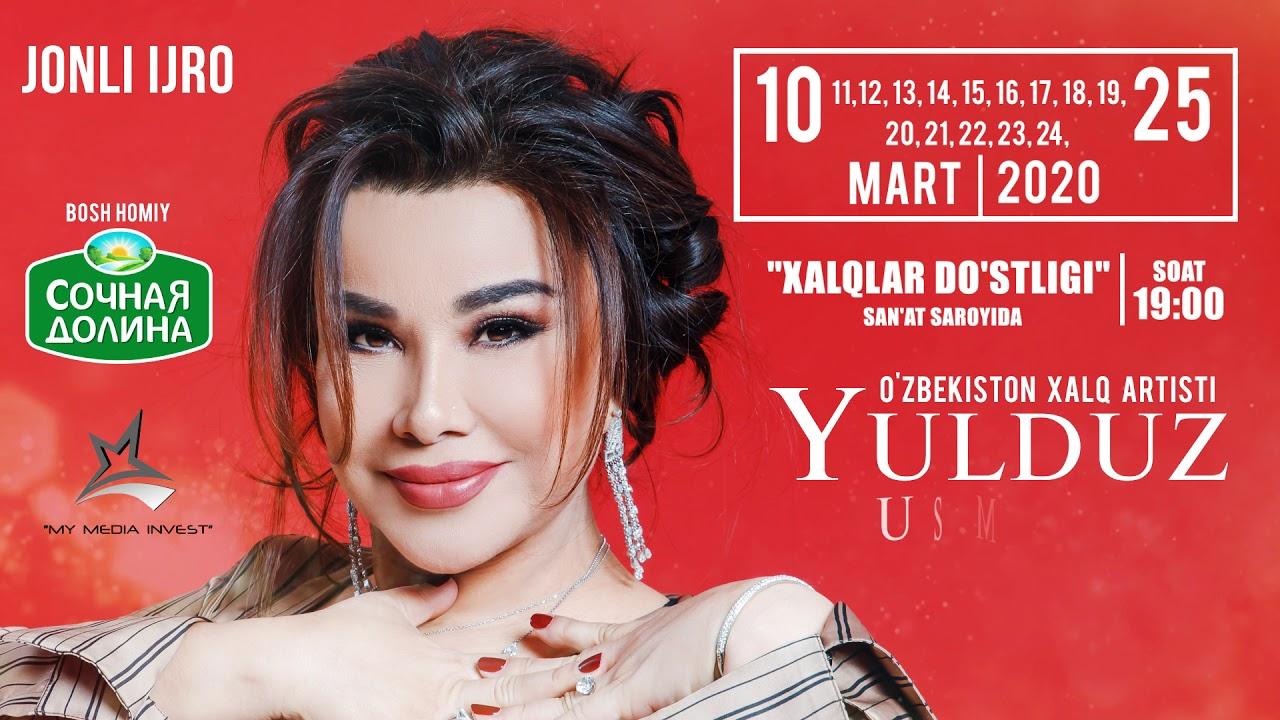 YULDUZ USMONOVA YANGI DASTUR (2020)ANONS
