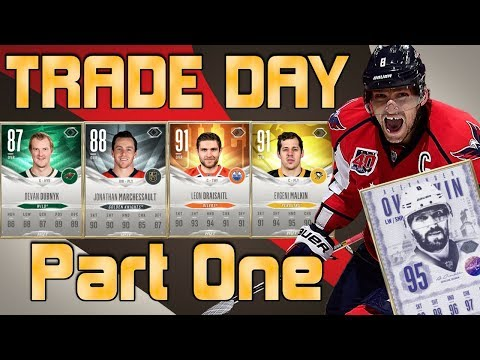 Part 1 - Trade Day W/ Ultimate Legend OVI - NHL 18