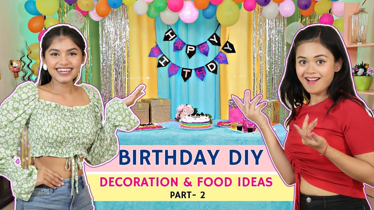 Birthday Special-DIY Decoration Ideas In Lockdown | DIY Queen