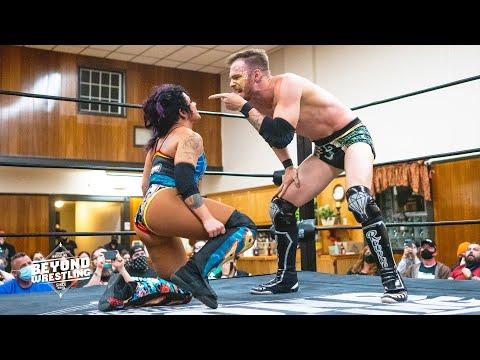 [Free Match] Aaron Rourke Vs. Solo Darling | Beyond Wrestling (Intergender Mixed AEW Dark Elevation)