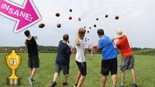 CRAZY QUARTERBACK MAYHEM TOURNAMENT!! WHO HAS THE MOST SKILLS??