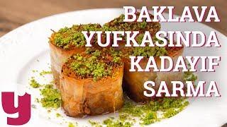 Baklava Yufkasında Kadayıf Sarma Tarifi (Çıtırlığın Resmi!) | Yemek.com