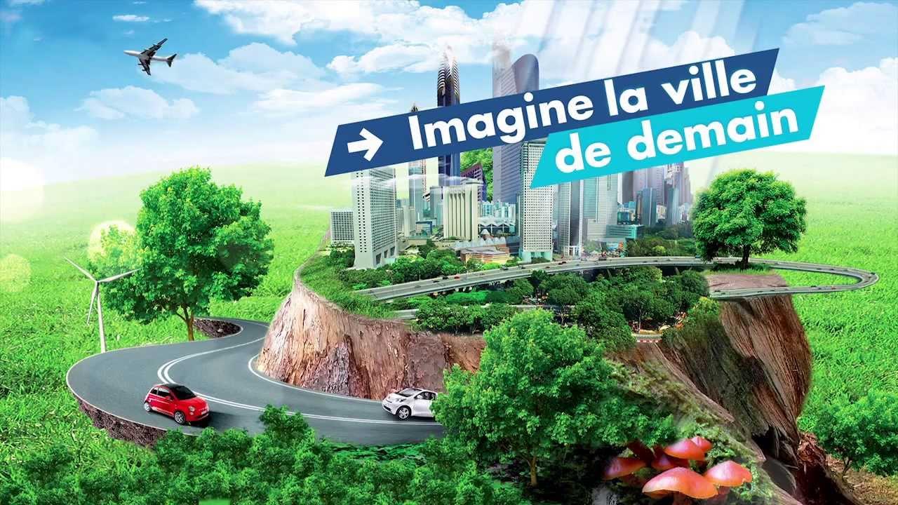 Ils Ont Imagine La Ville De Demain En Partenariat Avec Saint Gobain