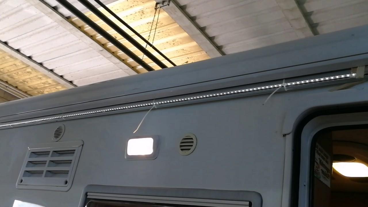 Lampada a led per esterno camper bes plafoniere beselettronica