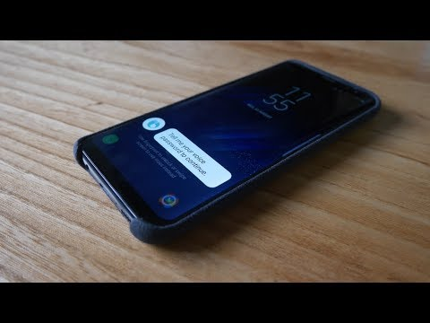 How to unlock the Samsung Galaxy S8/S8+ using a voice password | Bixby Voice