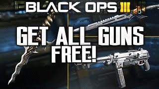 how to get all new guns free use them online glitch fix treyarch bo3 hg40 no supply drops