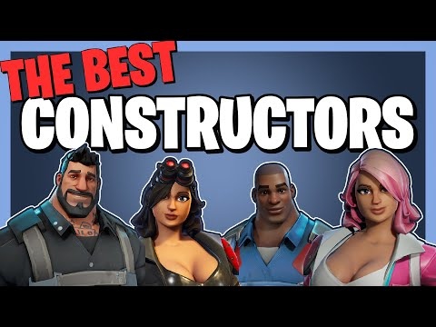 The BEST CONSTRUCTORS In Fortnite Save The World!