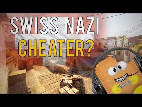 CSGO: Mirage   Fucking Swiss German Nazi Cheater o_O   Competitive Matchmaking