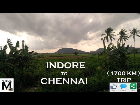 #Vlog l Indore to Chennai l Train journey l Superb south India
