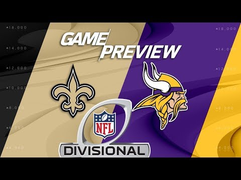 New Orleans Saints vs. Minnesota Vikings | NFL Divisional Round Preview | Move the Sticks