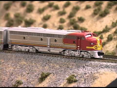 Model Railroader product review: Broadway Limited Imports N scale E8 diesel electric locomotive