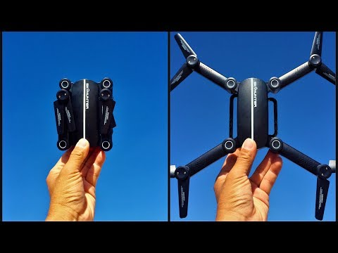 FLYSTER X8TW SKYHUNTER Foldable RC Pocket Drone