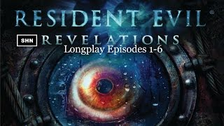 Resident Evil: Revelations HD Episodes 1-6 PS3 1080p/60fps Longplay Lets Play No Commentary