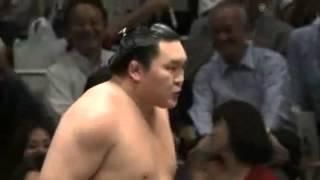 平成25年5月場所13日目 白鵬vs琴奨菊 鬼神のような強さ sumo hakuho kot...