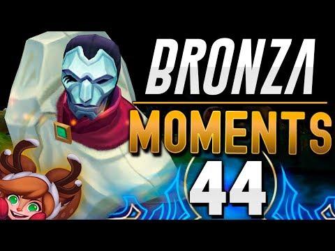 PENTAKILL NAVIDEÑO 1 vs 5 | BRONZA MOMENTS (Capítulo 44) League of Legends