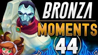 PENTAKILL NAVIDEÑO 1 vs 5 | BRONZA MOMENTS (Capítulo 44) League of Legends