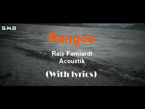 RANGOE , Rais Famiardi (Acoustik)